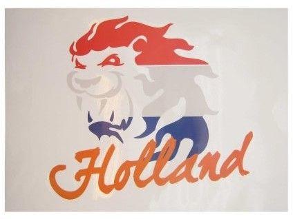 Raamsticker Nederlandse leeuw