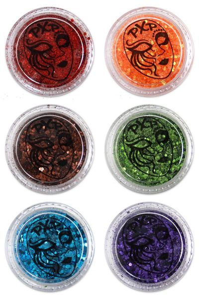 PartyXplosion Glitter Regenboog fijne glitter mix