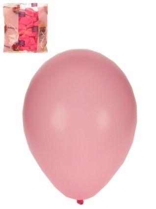 Ballonnen helium 100 x baby rosé maat 10
