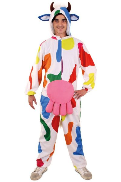 Vrolijk grappig Bonte koe outfit