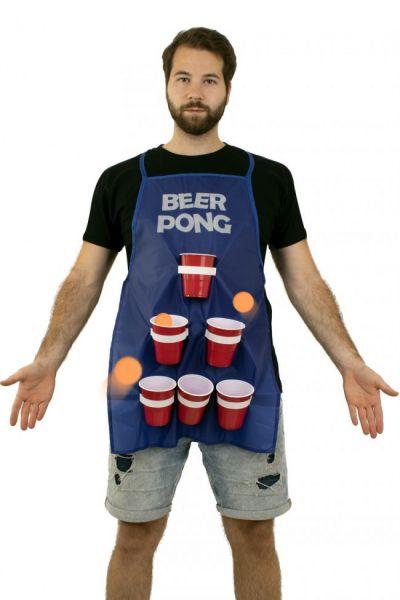Bier Pong drinkspel vrijgezellenfeest schort