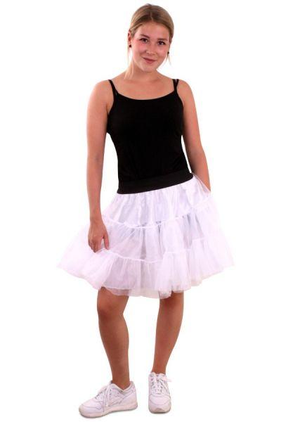 Petticoat wit 3 lagen