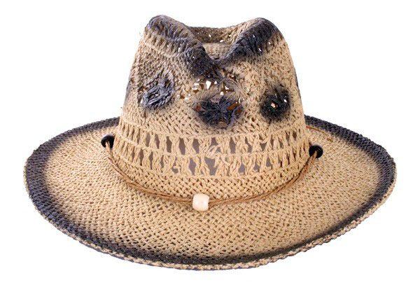 Cowgirl hoed stro naturel