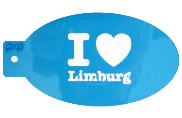 PXP makeup template I love Limburg