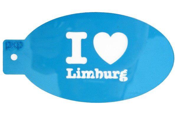 PXP makeup template I love Limburg