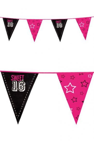 Vlaggenlijn Sweet 16