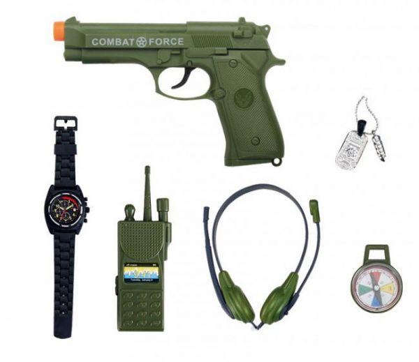 Leger Combat Force set 6-delig