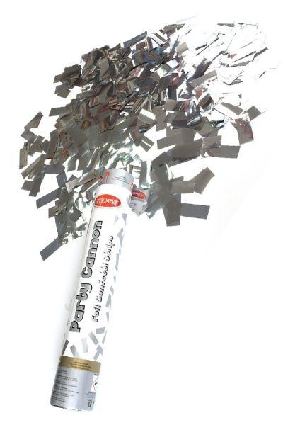 Party canon zilver papier 30 cm papier strip