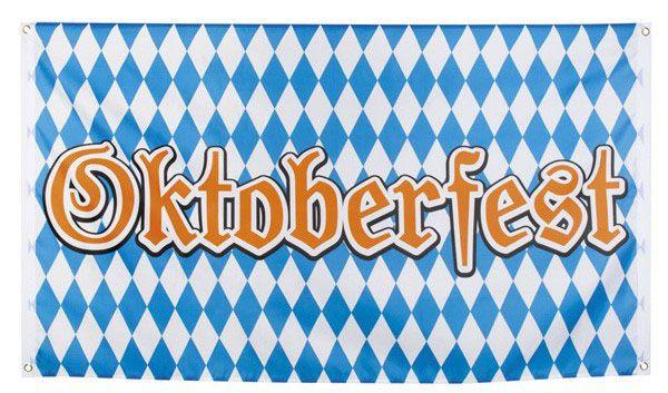 Oktoberfest Bayern vlag