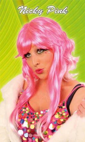 Damespruik pretty pink