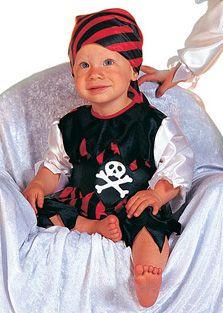 Baby Piraat broek met hesje