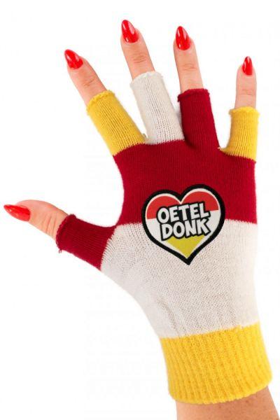 Vingerloze handschoenen met hartje Oeteldonk