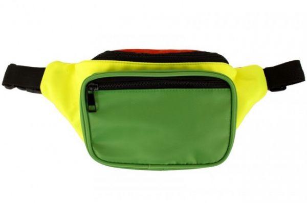 Carnaval heuptasje rood geel groen
