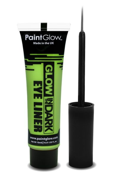 PaintGlow in the dark eyeliner UV neon groen
