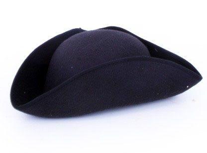 Napoleon hoed zwart vilt